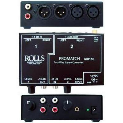Rolls MB15b Promatch 2way +4/-10 Converter