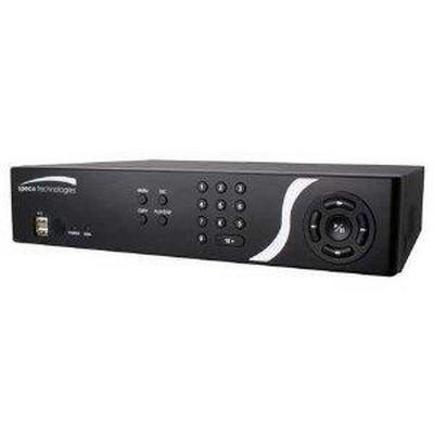 Speco D4CS1TB 4 Channel Embedded DVR, 1TB HDD