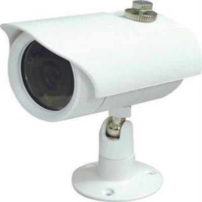 Speco VL62W Color Waterproof Day/Night Camera w/12 IR LEDs  White