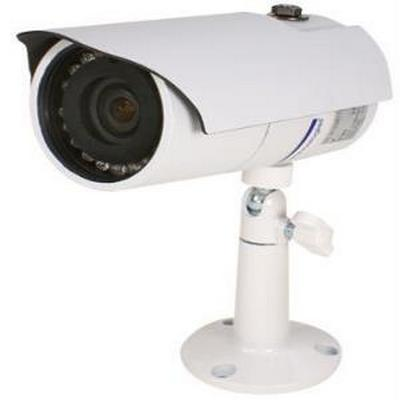 Speco VL66W Weatherproof Color Camera w/18 IR LED's  Includes, Dual Power Mounting Bracket White