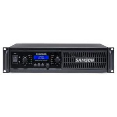 Samson 2 x 450 watts (4 ohms) Power Amplifier with DSP