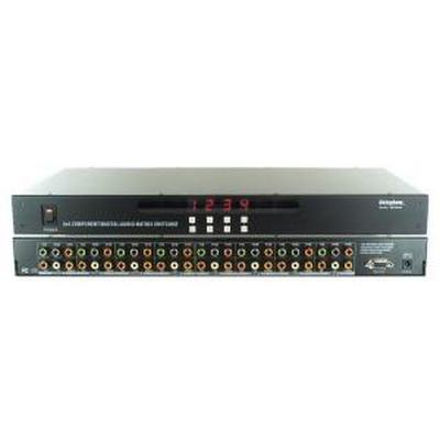 Shinybow SB-5644 4x4 HDTV Component/Digital/Audio Matrix Routing Switcher w/ IR + RS-232