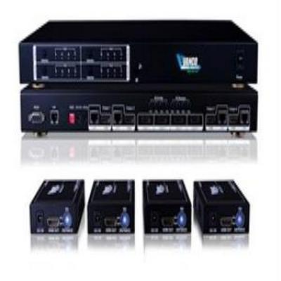 Vanco VPW-280794  Wyrestorm Quick Install HDMI® 4x4 Matrix over UTP