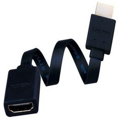 Vanco Cable Super Flex HDMI RA Flat Bottom 6