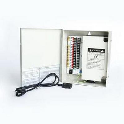 W-12VDC-18P/20A 12VDC 18Camera 20 amp distributed power supply