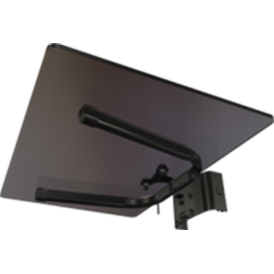 Crimson MSG Tempered glass shelf for carts or stands
