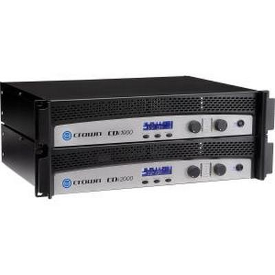 Crown CDI-1000 Power Amplifer 500 Watts @4Ohm 2 Channel Amplifier