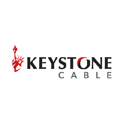 Keystone 18/6 Stranded non shielded 500 ft white