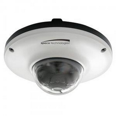 2.1MP, 1080P IP IR Mini dome camera, 3.7mm lens, white
