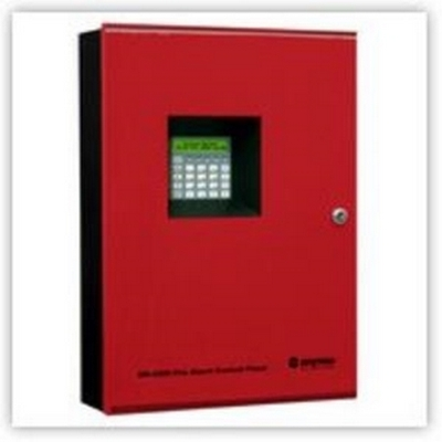 6 Zone LCD Display Conventional Fire Alarm Control Panel w/ UDACT