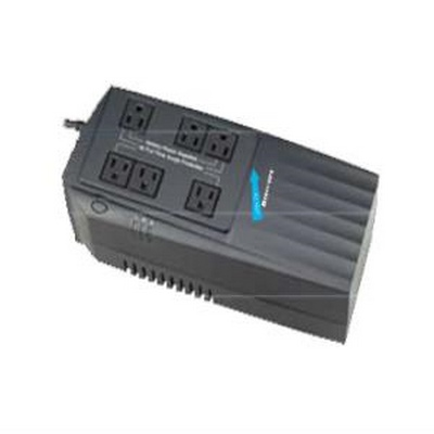 600 VA UPS Line Interactive battery back-up, 3 outlet, 3 surge