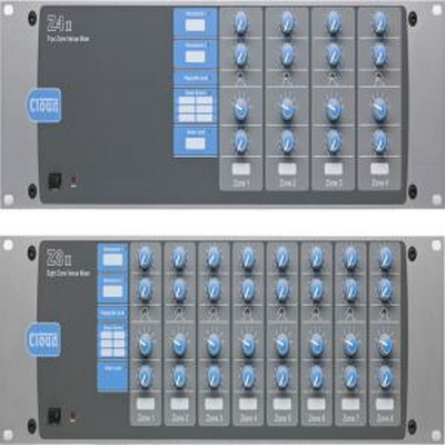 Cloud Electronics  8 Zone Mixer with 6Music inputs with gain controls