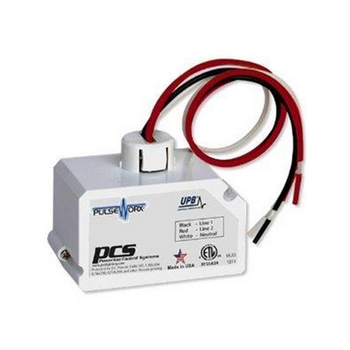 PulseWorx - Fixture Module - Relay, 1 Channel, 20A Max